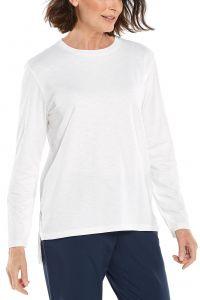 Coolibar---UV-Shirt-for-women---Carington-Tee---White