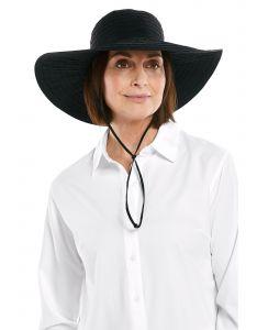 Coolibar---Featherweight-UV-Sun-Hat-for-women---Emma---Black