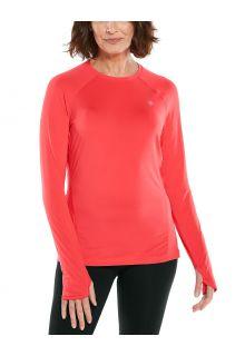 Coolibar---UV-Fitness-Top-for-women---Longsleeve---Devi---Prism-Pink