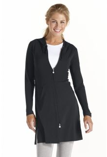 Coolibar---UV-long-cover-up-for-ladies---Black