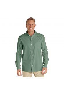 Coolibar---UV-shirt-for-men---green