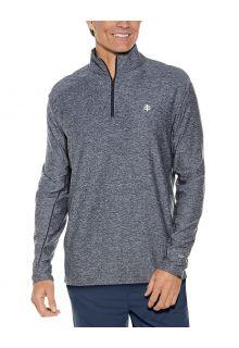 Coolibar---UV-Pullover-for-men---Agility-Performance---Navy