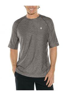 Coolibar---UV-Sports-Shirt-for-men---Agility-Performance---Charcoal