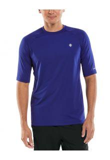 Coolibar---UV-Sports-Shirt-for-men---Agility-Performance---Midnight-Blue