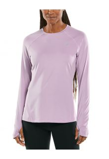 Coolibar---UV-Fitness-Top-for-women---Longsleeve---Devi---Lavender