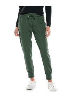Coolibar---Casual-UV-pants-for-women---Maho-Weekend---Deep-Olive