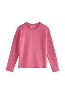 Coolibar---UV-Shirt-for-kids---Longsleeve---Coco-Plum---Dahlia-Pink
