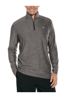 Coolibar---UV-Pullover-for-men---Agility-Performance---Charcoal