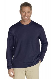 Coolibar---UV-Long-Sleeve-T-Shirt---Navy