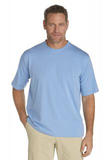 Coolibar---Short-sleeve-UV-sport-tee---storm-blue