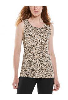 Coolibar---UV-Tank-Top-for-women---Morada-Everyday---Dark-Taupe-Cheetah