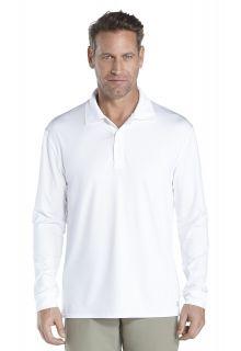 Coolibar---Sport-UV-Polo---white