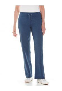 Coolibar---UV-Beach-pants-for-women---Windley---Denim-Blue