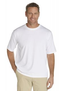 Coolibar---Short-sleeve-UV-sport-tee---white
