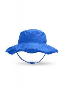 Coolibar---UV-bucket-hat-for-babies---Baja-blue
