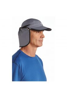 Coolibar---UV-sun-cap-unisex--Carbon-grey-/-black