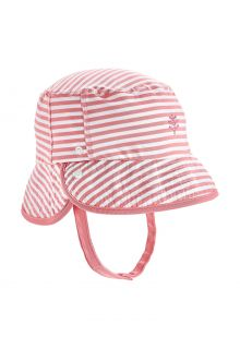 Coolibar---UV-Bucket-hat-for-babies---Linden---Seashell/White