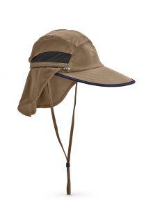 Coolibar---Convertible-UV-Fishing-Cap-for-men---Calec---Khaki/Navy
