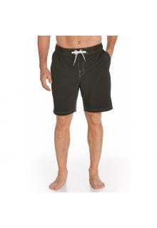 Coolibar---swim-UV-short---black