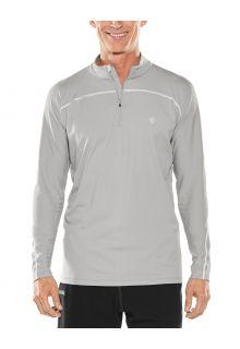Coolibar---UV-Swim-Shirt-for-men---Longsleeve---Nocona-Zip---Mercury