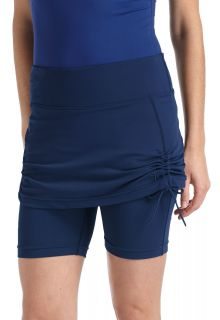Coolibar---Skirted-UV-Swim-Shorts---Navy