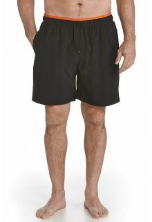 Coolibar---UV-Swimshort-Men---Black