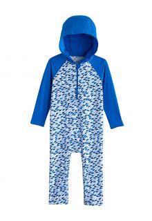 Coolibar---Hooded-UV-Swim-suit-for-babies---Finn---Marlin-Blue-Mosaic
