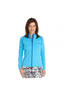 Coolibar---UV-swim-jacket-for-women---Azure-blue