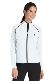 Coolibar---Long-Sleeve-UV-Water-Jacket---White/Black