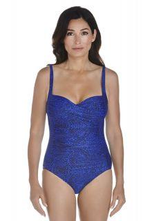 Coolibar---UPF-50+-Women's-Ruche-Bandeau-Swimsuit-UV-Swimwear--Blue-Floral-Motif