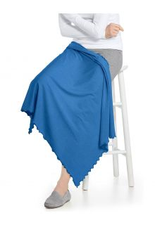 Coolibar---UV-resistant-Sun-Blanket---Savannah---Cerulean-Blue