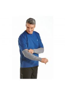 Coolibar---UV-sleeves-for-men---Grey-heather