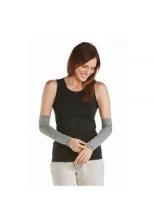 Coolibar---UV-sleeves-for-women---Grey-heather