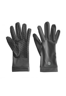 Coolibar---UV-resistant-gloves-for-adults---Sawyer---Charcoal