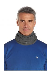 Coolibar---UV-resistant-Neck-Gaiter-for-adults---La-Plata---Charcoal