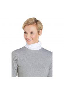 Coolibar---UV-neck-gaiter-unisex--Side-vents---White