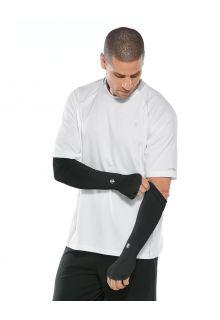 Coolibar---UV-Performance-Sleeves-for-men---Backspin---Black