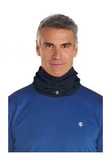 Coolibar---UV-resistant-Neck-Gaiter-for-adults---La-Plata---Black