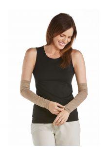 Coolibar---UV-Sun-Sleeves-for-women---Navagio---Dark-Taupe
