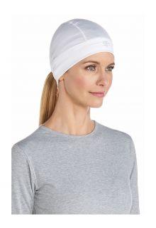 Coolibar---UV-Skull-Cap-for-adults---Hubbard---White