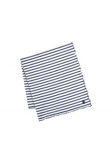 Coolibar---UV-blanket-for-women,-men,-kids-and-babies---navy/white-striped