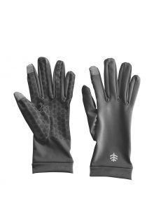 Coolibar---UV-resistant-gloves-for-adults---Gannett---Charcoal
