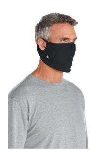 Coolibar---UV-resistant-Mask-for-adults---Blackburn---Black