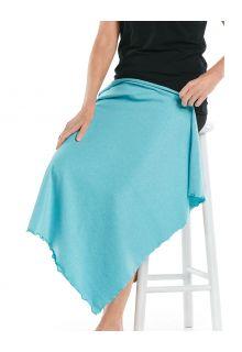 Coolibar---UV-resistant-Sun-Blanket---Savannah---Ocean-Turquoise