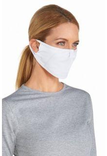 Coolibar---UV-resistant-face-mask---White