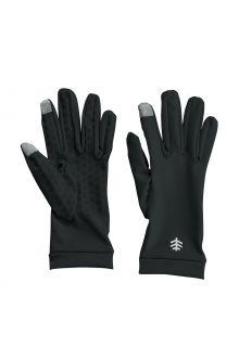 Coolibar---UV-resistant-gloves-for-adults---Gannett---Black