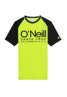 O'Neill---Boys'-UV-shirt-with-short-sleeves---Cali---New-Safety-Yellow