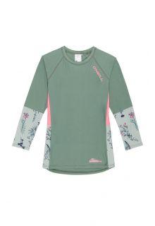 O'Neill---Girls'-UV-shirt---Longsleeve---Print---Lily-Pad