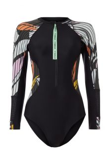 O'Neill---Women's-UV-Bathingsuit---Longsleeve---Suru---Black-Out-