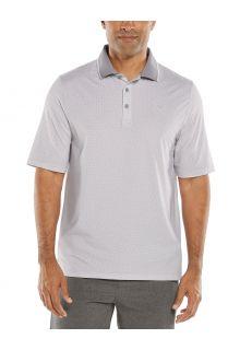 Coolibar---UV-Sport-Polo-for-men---Erodym-Golf---White/Grey